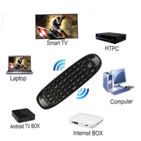 C120 Air Mouse Gyroscope 2.4GHzG Mouse Rechargeable Wireless GYRO Air Fly Mouse Keyboard for For Smart Tv Box Mini PC
